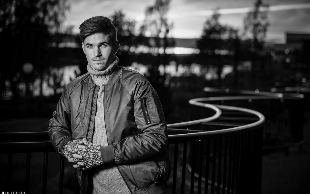 fotografering Jeansbolaget med Niklas och Evelina